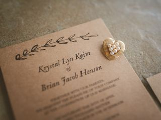 The wedding of Krystal and Brian 2