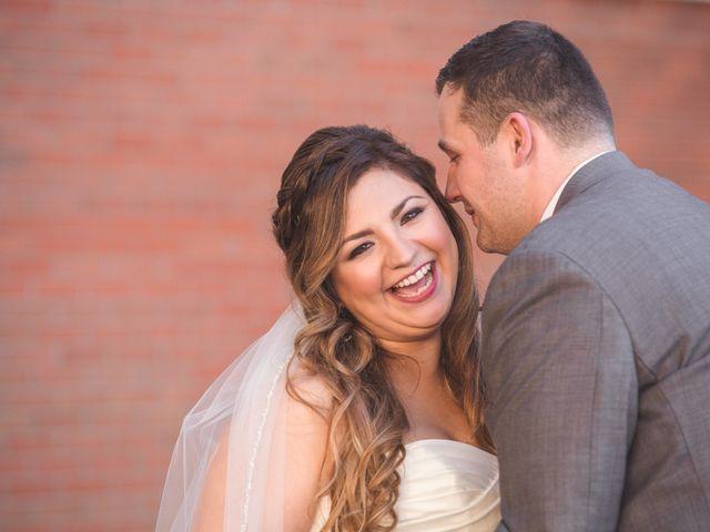 The wedding of Kassi and Allen
