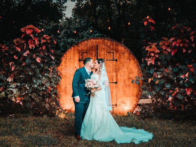 The wedding of Melany and Douglas