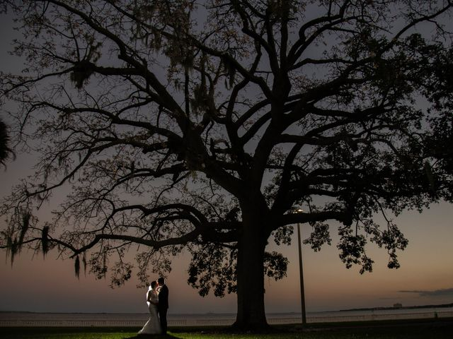 Heather and Curtis's Wedding in Tampa, Florida 3