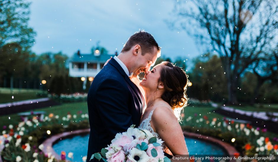 Danielle and Christopher's Wedding in Taneytown, Maryland