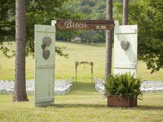 Ashley and Ryan's Wedding in Valley Head, Alabama 11