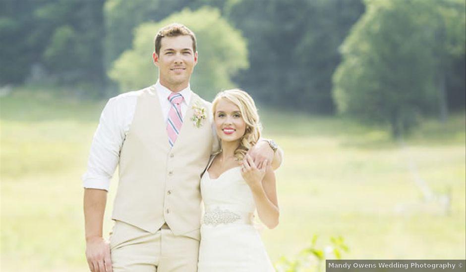 Ashley and Ryan's Wedding in Valley Head, Alabama
