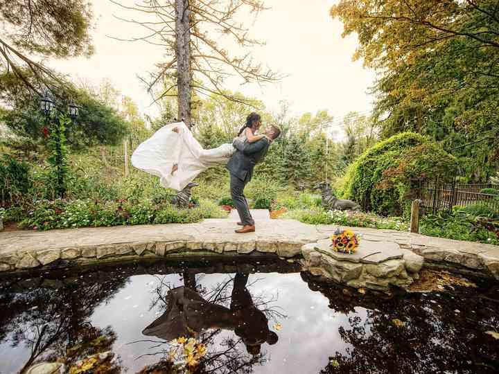 The wedding of Stephanie and Jason