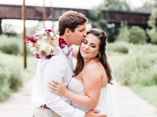 The wedding of Jacqueline and Alex