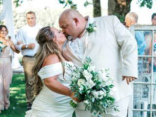 The wedding of Matt and April 1