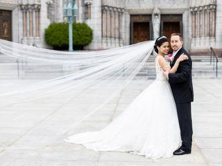 The wedding of Madelene and Edward