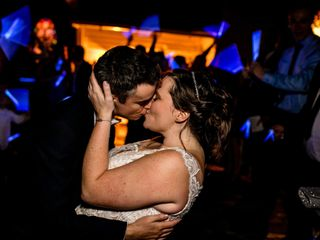 The wedding of Haileigh and Andrew