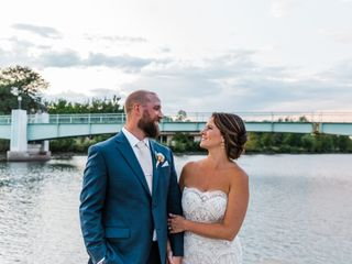 The wedding of Nick and Megan 1