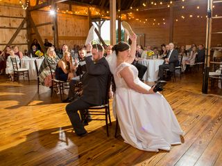 The wedding of Sarah and Justin 1