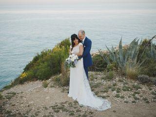 The wedding of Karen and Christian