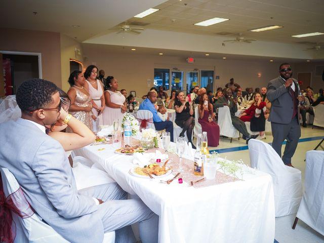 Isaiah and Angela's Wedding in Edgewood, Maryland 8