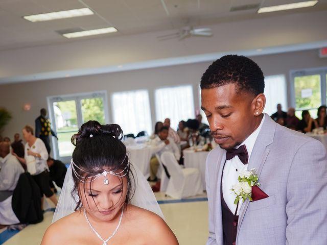 Isaiah and Angela's Wedding in Edgewood, Maryland 9