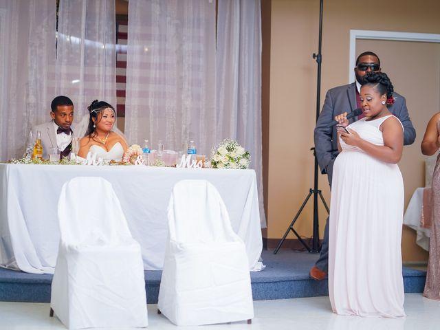 Isaiah and Angela's Wedding in Edgewood, Maryland 10