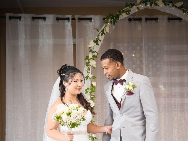 Isaiah and Angela's Wedding in Edgewood, Maryland 3