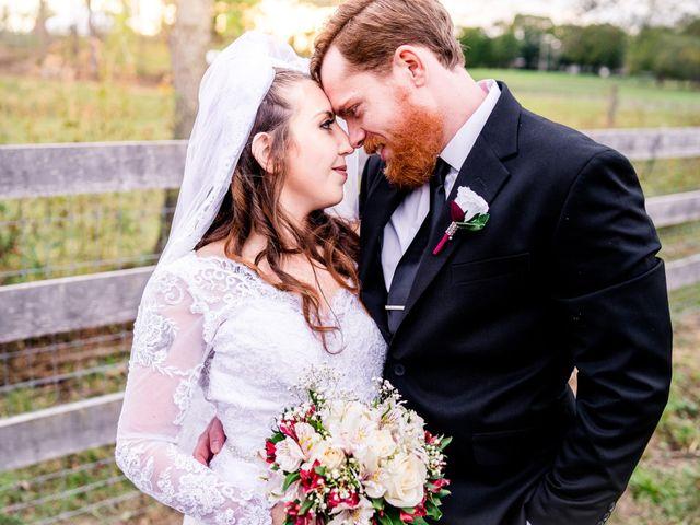 The wedding of Bridget and Josh