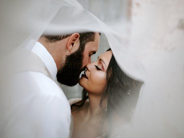 The wedding of Mary-Elizabeth and Caleb