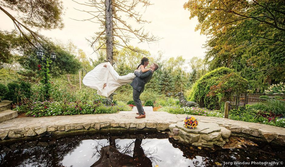 Jason and Stephanie's Wedding in Washingtonville, New York