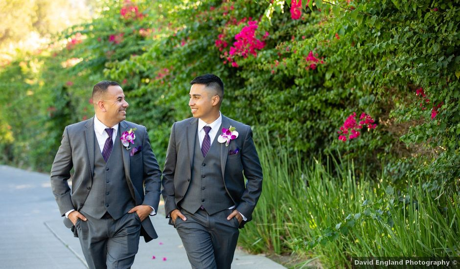 Roman and David's Wedding in Long Beach, California