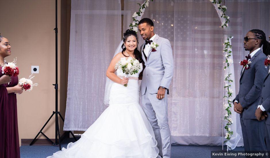 Isaiah and Angela's Wedding in Edgewood, Maryland