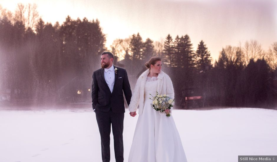 Jonathan and Anne's Wedding in Windham, New York