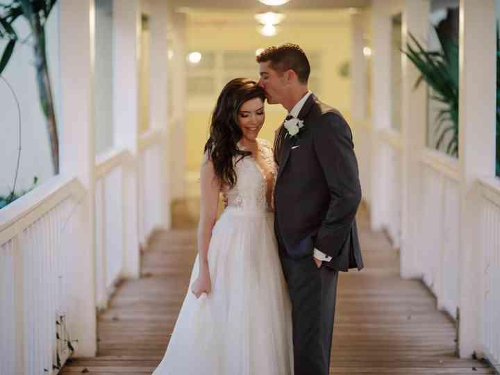 The wedding of Adam and Krista