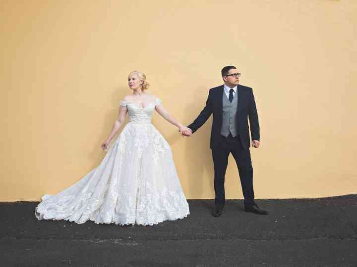 The wedding of Kimmy and Josh