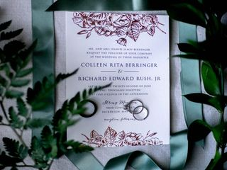 The wedding of Colleen and Richard 2