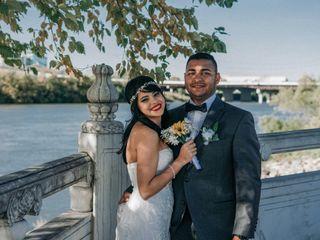The wedding of Axel and Angelika