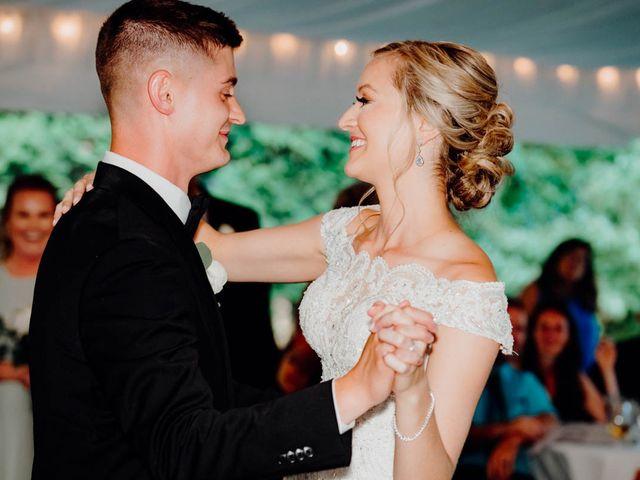 The wedding of Colleen and Richard