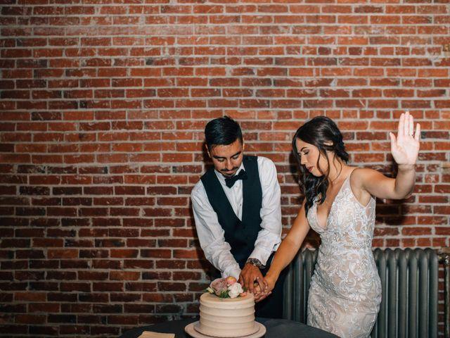 The wedding of Alexandria and Gera
