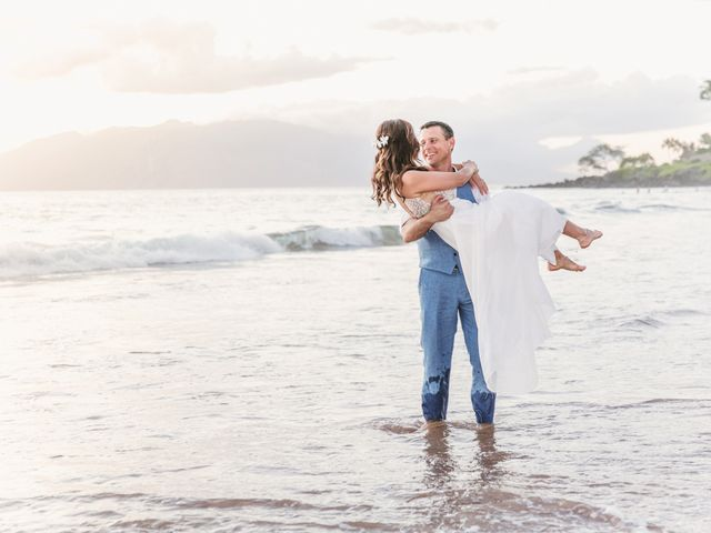Keith and Marie's Wedding in Kihei, Hawaii 1