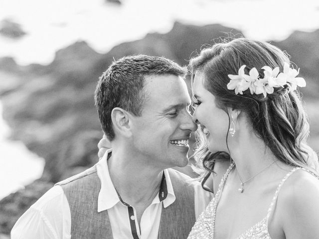 Keith and Marie's Wedding in Kihei, Hawaii 4