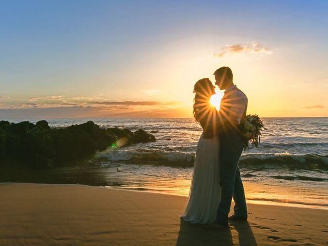 Keith and Marie's Wedding in Kihei, Hawaii 5