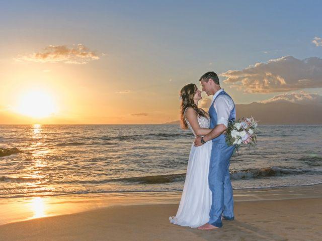 Keith and Marie's Wedding in Kihei, Hawaii 6