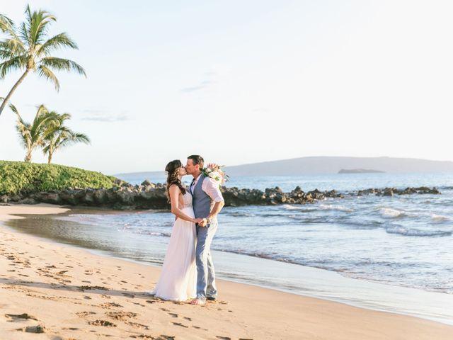 Keith and Marie's Wedding in Kihei, Hawaii 7