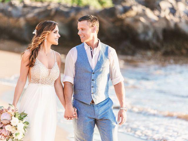 Keith and Marie's Wedding in Kihei, Hawaii 8