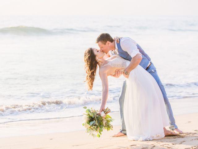 Keith and Marie's Wedding in Kihei, Hawaii 10