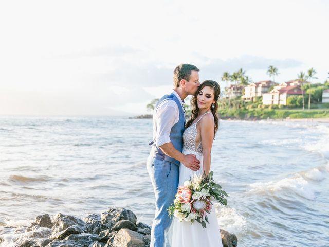 Keith and Marie's Wedding in Kihei, Hawaii 15
