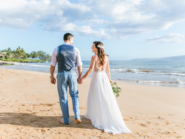 Keith and Marie's Wedding in Kihei, Hawaii 27