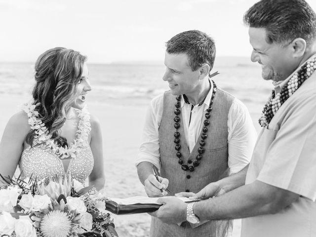 Keith and Marie's Wedding in Kihei, Hawaii 29