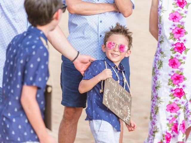 Keith and Marie's Wedding in Kihei, Hawaii 30