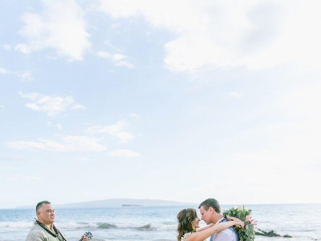 Keith and Marie's Wedding in Kihei, Hawaii 34