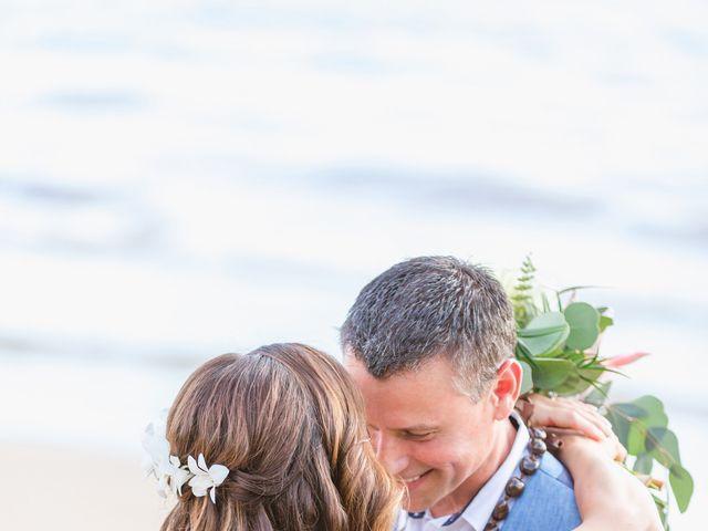 Keith and Marie's Wedding in Kihei, Hawaii 36