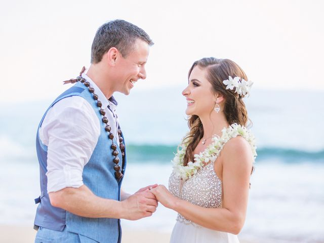 Keith and Marie's Wedding in Kihei, Hawaii 38