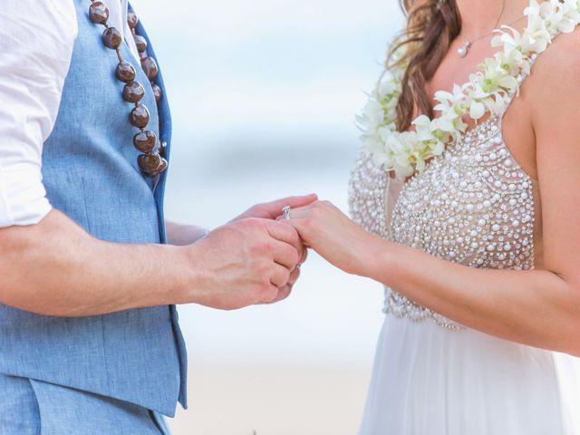 Keith and Marie's Wedding in Kihei, Hawaii 39