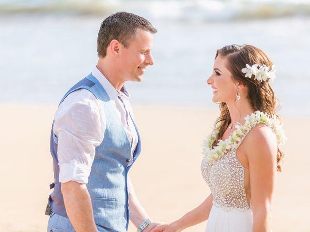 Keith and Marie's Wedding in Kihei, Hawaii 41
