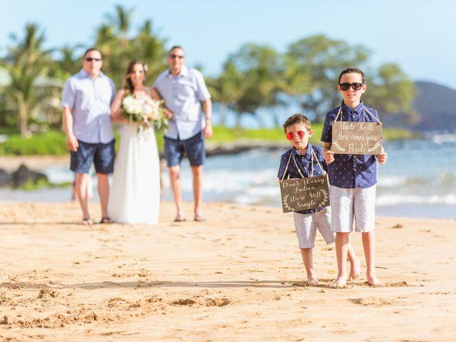 Keith and Marie's Wedding in Kihei, Hawaii 43