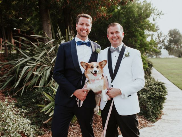 The wedding of Patrick and Evan