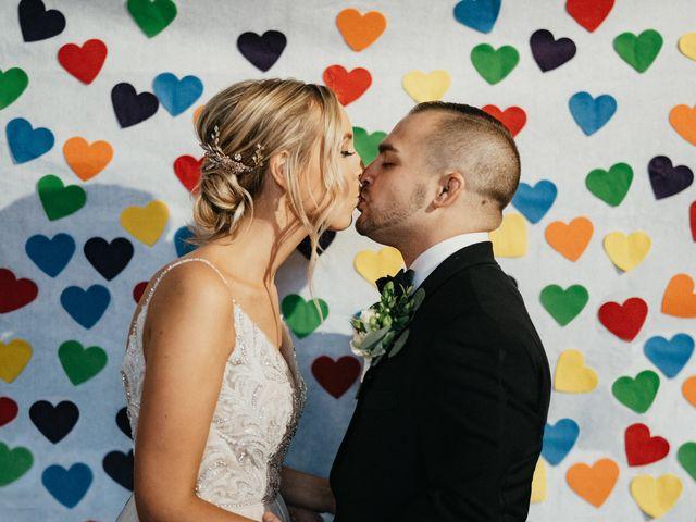 The wedding of Joe and Taylor